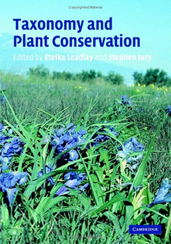 9780521845069: Taxonomy and Plant Conservation