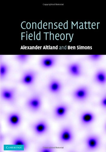9780521845083: Condensed Matter Field Theory