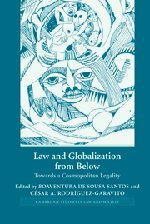 Law and Globalization from Below: Towards a: Boaventura de Sousa