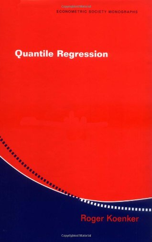 9780521845731: Quantile Regression Hardback (Econometric Society Monographs)
