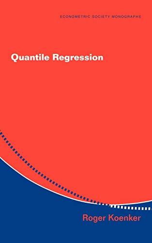 9780521845731: Quantile Regression (Econometric Society Monographs)