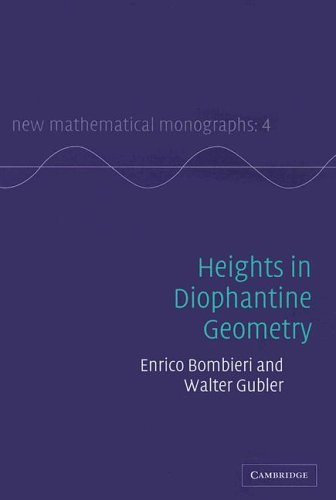9780521846158: Heights in Diophantine Geometry (New Mathematical Monographs)