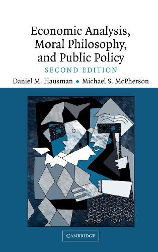 9780521846295: Economic Analysis, Moral Philosophy and Public Policy