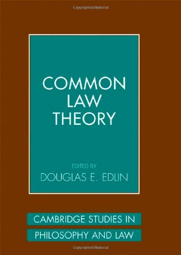 9780521846424: Common Law Theory (Cambridge Studies in Philosophy and Law)