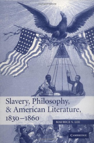 9780521846530: Slavery, Philosophy, and American Literature, 1830-1860 (Cambridge Studies in American Literature and Culture)