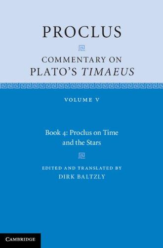 9780521846585: Proclus: Commentary on Plato's Timaeus: Volume 5, Book 4