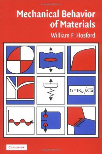 Mechanical Behavior of Materials: William F. Hosford