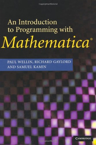 9780521846783: An Introduction to Programming with Mathematica®