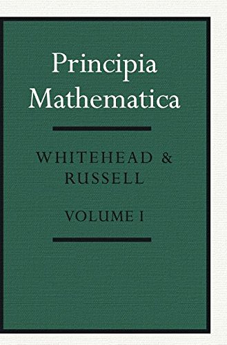 9780521846851: Principia Mathematica: Volume 1