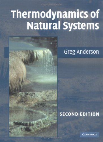 9780521847728: Thermodynamics of Natural Systems