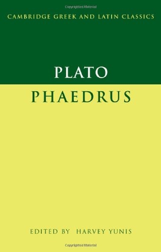 9780521847766: Plato: Phaedrus (Cambridge Greek and Latin Classics)