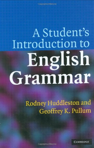 9780521848374: A Student's Introduction to English Grammar