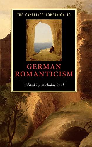 9780521848916: The Cambridge Companion to German Romanticism (Cambridge Companions to Literature)