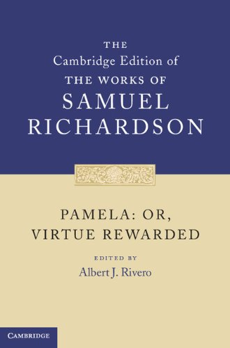 9780521848954: Pamela: Or, Virtue Rewarded (The Cambridge Edition of the Works of Samuel Richardson)