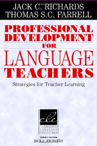9780521849111: Professional Development for Language Teachers: Strategies for Teacher Learning (Cambridge Language Education)