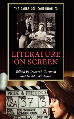 9780521849623: The Cambridge Companion to Literature on Screen Hardback (Cambridge Companions to Literature)