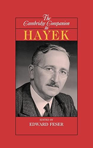 9780521849777: The Cambridge Companion to Hayek (Cambridge Companions to Philosophy)