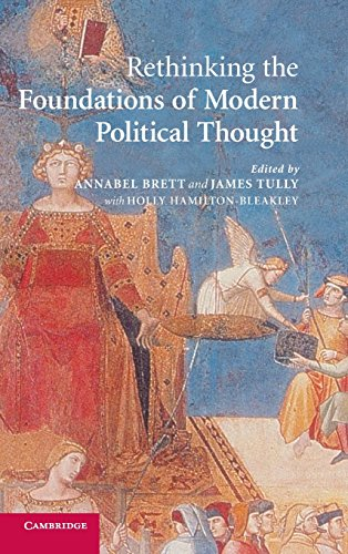 9780521849791: Rethinking The Foundations of Modern Political Thought