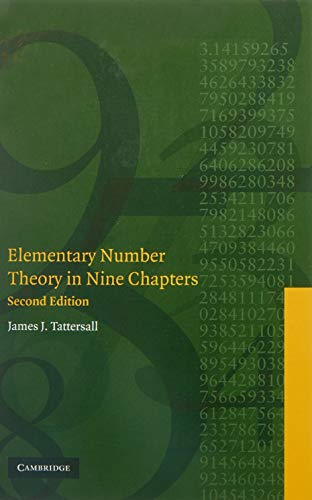 9780521850148: Elementary Number Theory in Nine Chapters 2nd Edition Hardback
