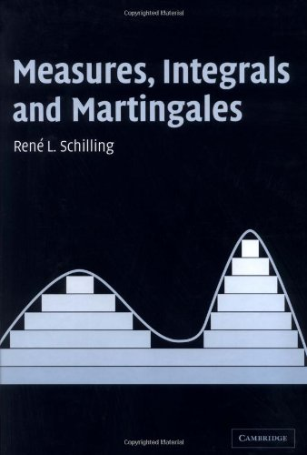 9780521850155: Measures, Integrals and Martingales
