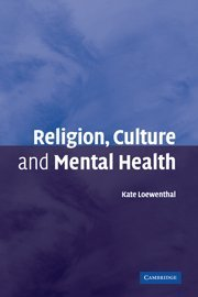 9780521850230: Religion, Culture and Mental Health