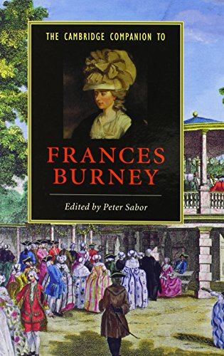 The Cambridge Companion to Frances Burney (Hardback)