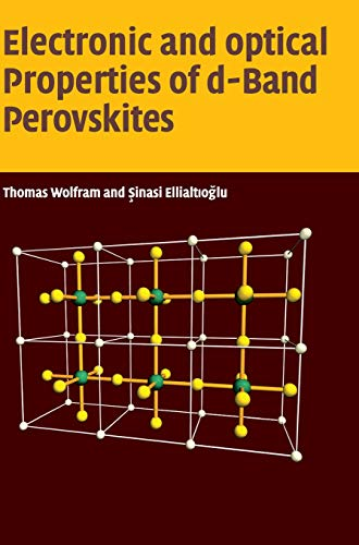 9780521850537: Electronic and Optical Properties of d-Band Perovskites