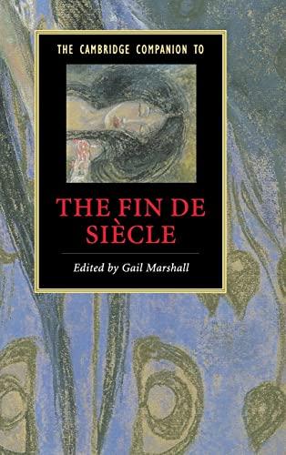 9780521850636: The Cambridge Companion to the Fin de Siècle (Cambridge Companions to Literature)