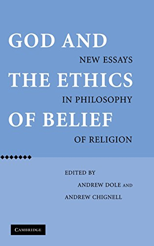 9780521850933: God and the Ethics of Belief: New Essays in Philosophy of Religion