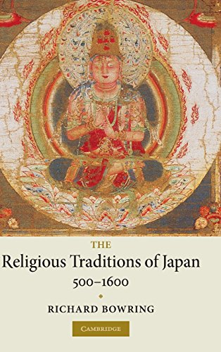 9780521851190: The Religious Traditions of Japan 500-1600 Hardback
