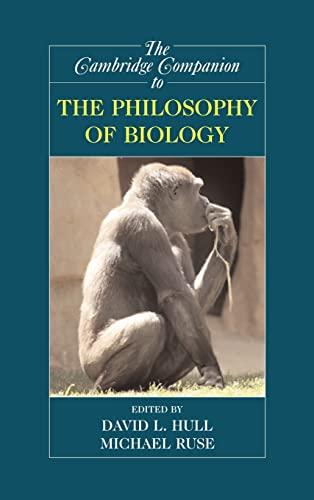 9780521851282: The Cambridge Companion to the Philosophy of Biology (Cambridge Companions to Philosophy)