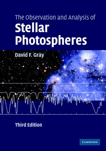 9780521851862: The Observation and Analysis of Stellar Photospheres