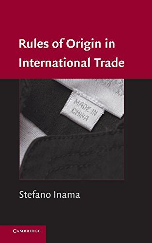 9780521851909: Rules of Origin in International Trade