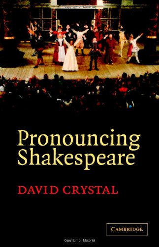 9780521852135: Pronouncing Shakespeare: The Globe Experiment