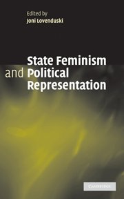 9780521852227: State Feminism and Political Representation Hardback