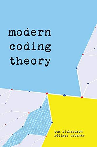9780521852296: Modern Coding Theory