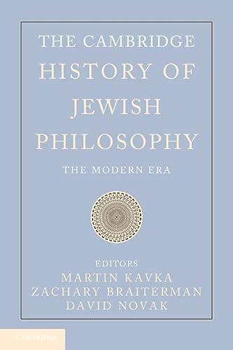 9780521852432: The Cambridge History of Jewish Philosophy: Volume 2 Hardback