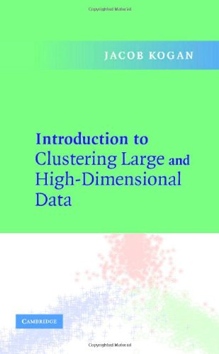 9780521852678: Introduction to Clustering Large and High-Dimensional Data