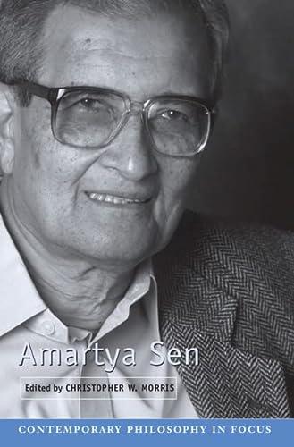 9780521852913: Amartya Sen (Contemporary Philosophy in Focus)