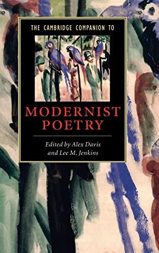 9780521853057: The Cambridge Companion to Modernist Poetry (Cambridge Companions to Literature)