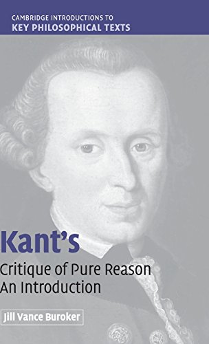 9780521853156: Kant's 'Critique of Pure Reason': An Introduction (Cambridge Introductions to Key Philosophical Texts)