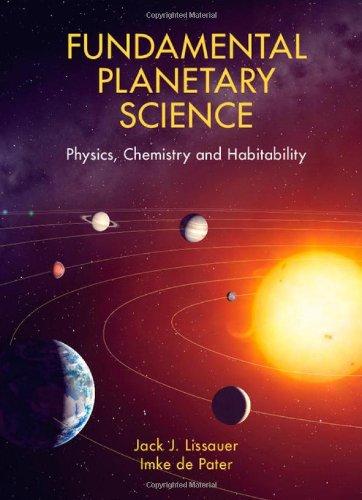 9780521853309: Fundamental Planetary Science: Physics, Chemistry and Habitability