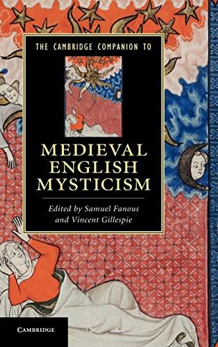 9780521853439: The Cambridge Companion to Medieval English Mysticism Hardback (Cambridge Companions to Literature)