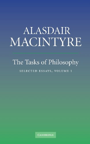 9780521854375: The Tasks of Philosophy: Volume 1: Selected Essays