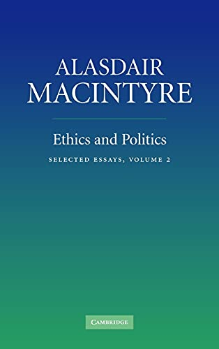 9780521854382: Ethics and Politics: Volume 2: Selected Essays
