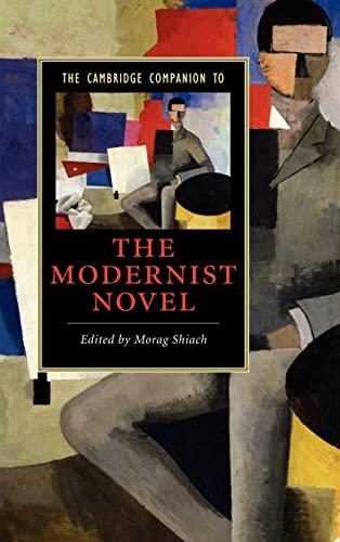 9780521854443: The Cambridge Companion to the Modernist Novel (Cambridge Companions to Literature)