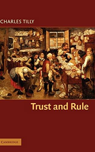 9780521855259: Trust and Rule (Cambridge Studies in Comparative Politics)