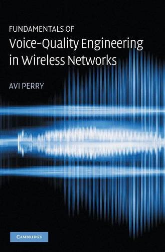 9780521855952: Fundamentals of Voice-Quality Engineering in Wireless Networks