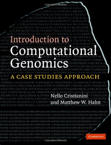 9780521856034: Introduction to Computational Genomics: A Case Studies Approach