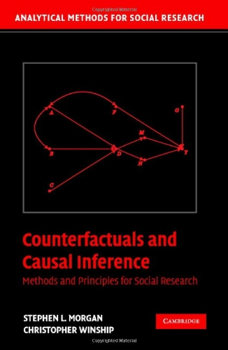 9780521856157: Counterfactuals and Causal Inference Hardback: Methods and Principles for Social Research (Analytical Methods for Social Research)